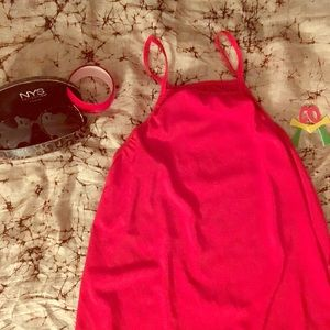 Other - 🔥🔥Sexy Red High Split Dress/Shirt🔥🔥 Free 🎁